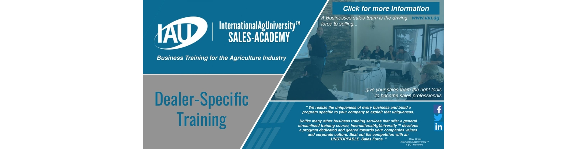 International Ag University - Link to their website.